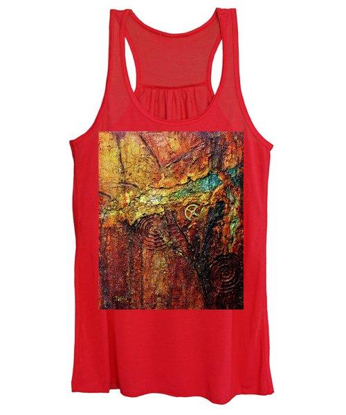 Abstract Rock 2 Women's Tank Top