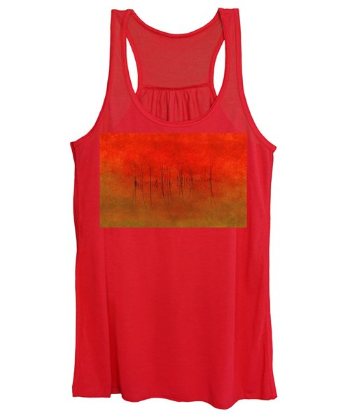 Abstract Sunset  Women's Tank Top