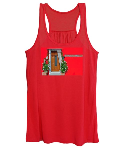 Women's Tank Top featuring the photograph A-door-ned by Rick Locke