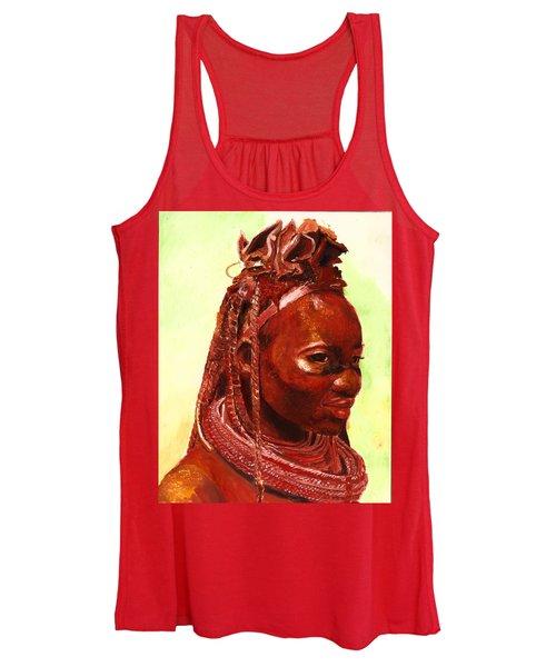 African Beauty Women's Tank Top