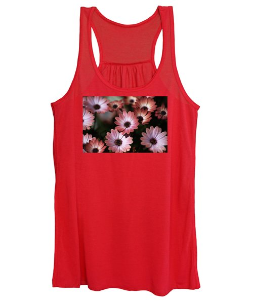 African Daisy Zion Red Women's Tank Top