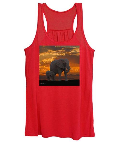African Sunset-k Women's Tank Top