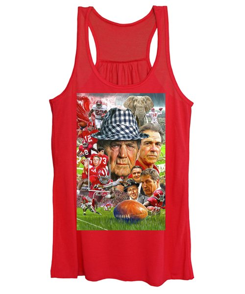 8eb05366d Alabama Crimson Tide Women s Tank Top Alabama Crimson Tide. Mark Spears.   23. View Similar Art. New York Jets Joe Namath ...