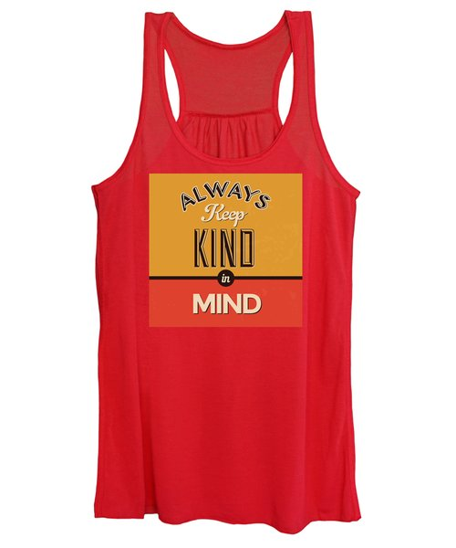 Always Keep Kind In Mind Women's Tank Top