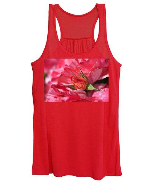 Amongst The Rose Petals Women's Tank Top