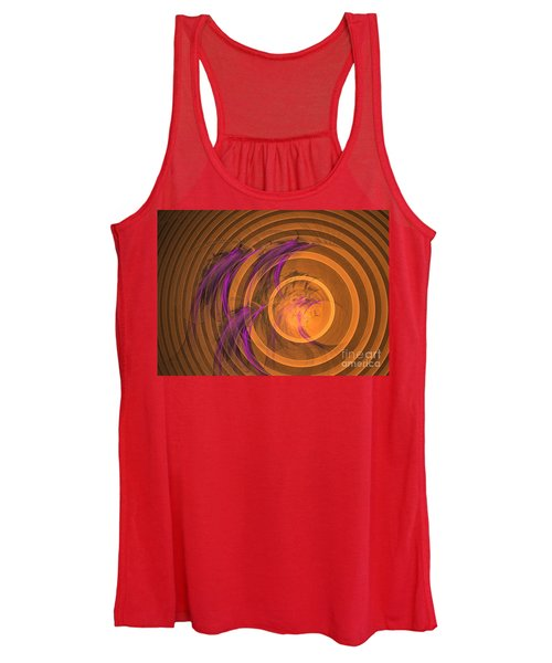 An Echo From The Past - Abstract Art Women's Tank Top