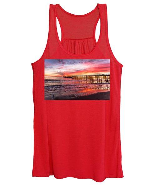 Seacliff Sunset Women's Tank Top