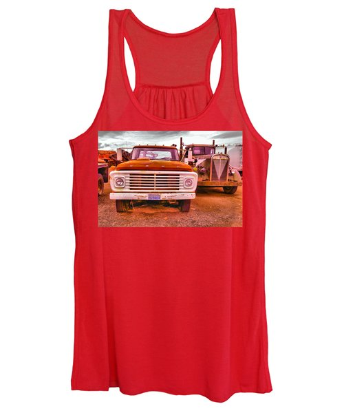 An Old Ford And Kenworth Women's Tank Top