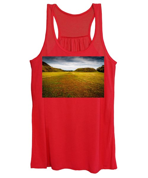 Ancient Indian Burial Ground  Women's Tank Top