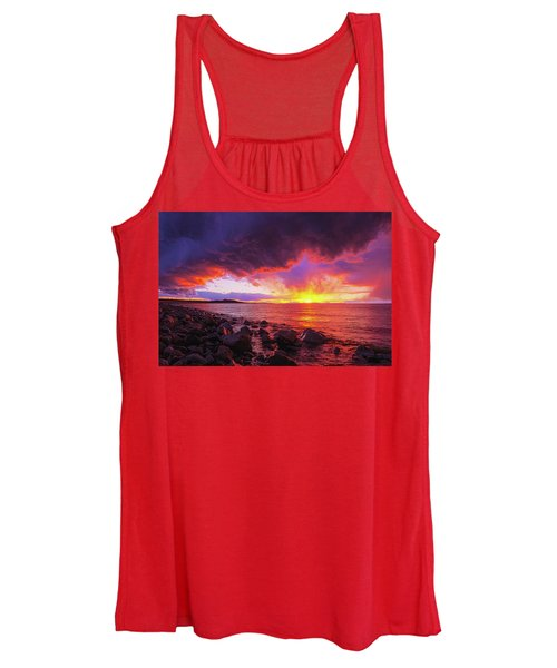 Antelope Island Sunset Women's Tank Top