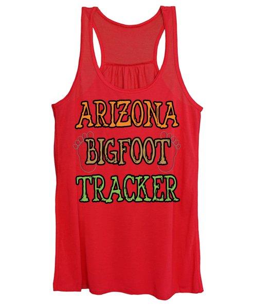 Arizona Bigfoot Tracker Women's Tank Top