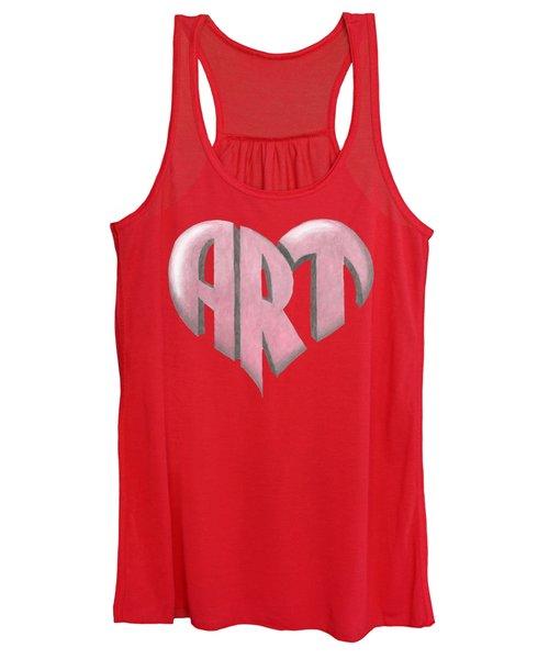 Art Heart Women's Tank Top