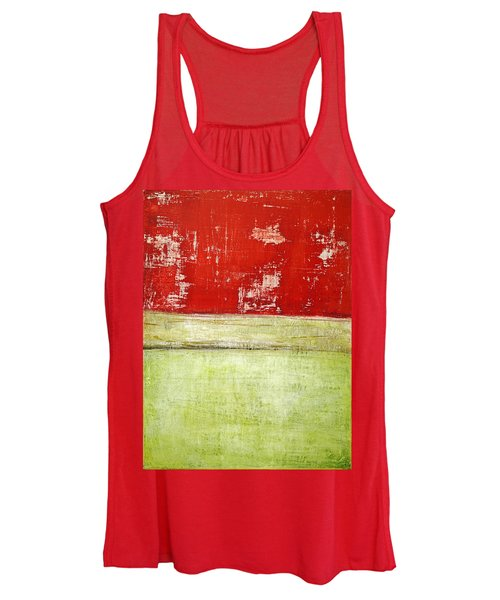 Art Print Rotgelb Women's Tank Top