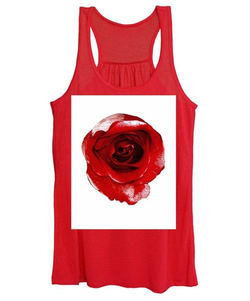Artpaintedredrose Women's Tank Top