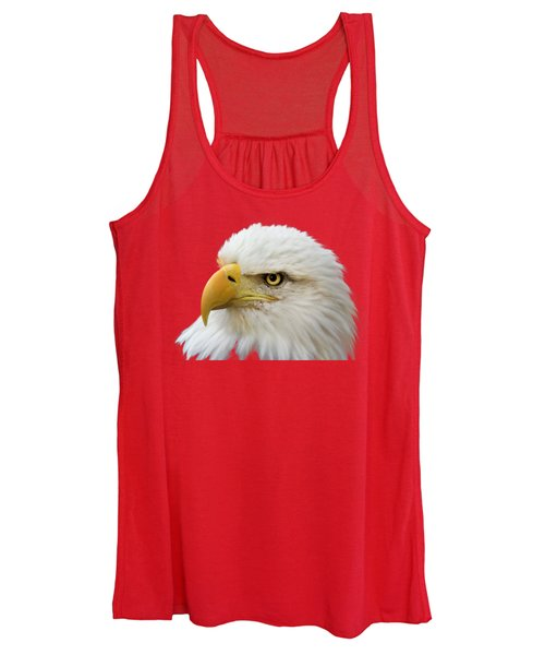 Women's Tank Top featuring the photograph Eagle Eye by Shane Bechler