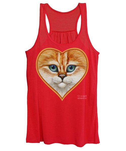 Happy Kitty Women's Tank Top