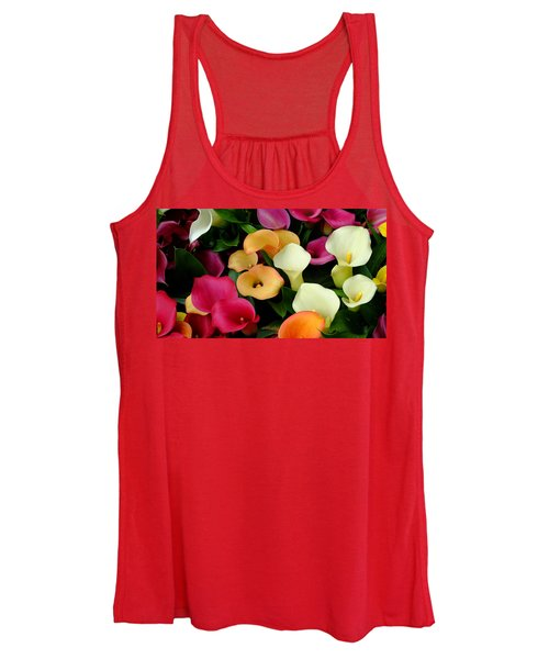 Arum Lilies Women's Tank Top