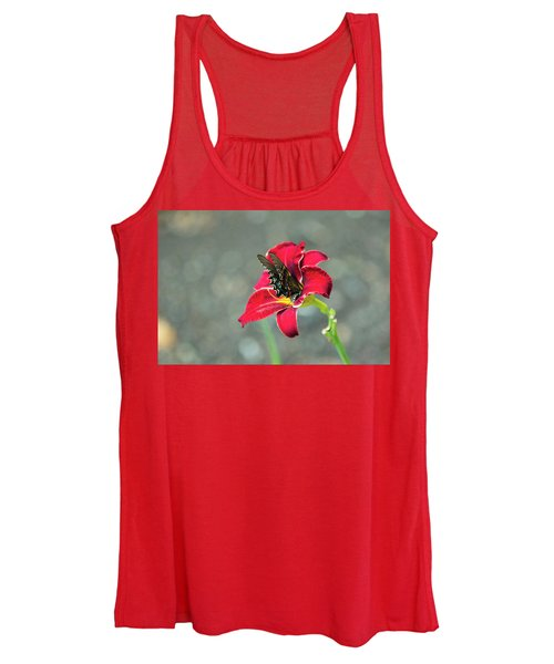 At One With The Orchid 2 Women's Tank Top