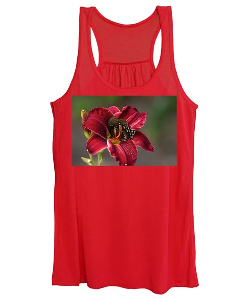 At One With The Orchid Women's Tank Top