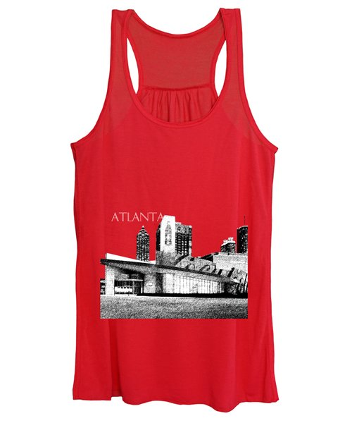 Atlanta World Of Coke Museum - Dark Red Women's Tank Top