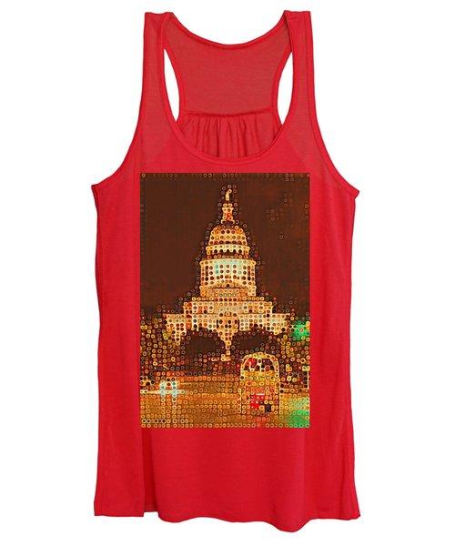 Austin Capitol At Night Women's Tank Top