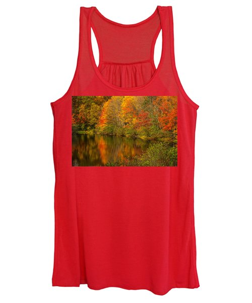 Autumn In Monroe Women's Tank Top