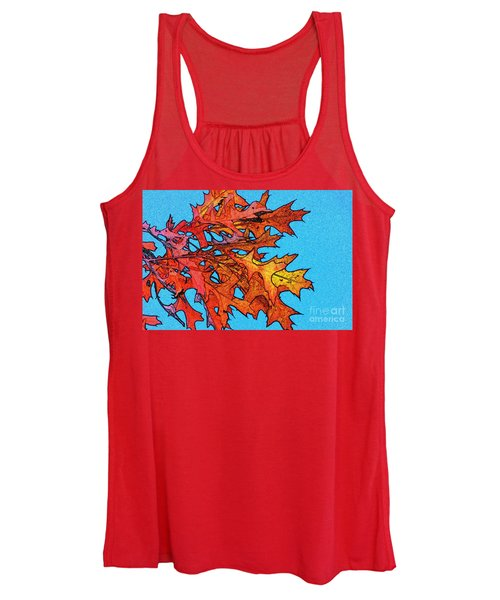 Autumn Leaves 14 Women's Tank Top