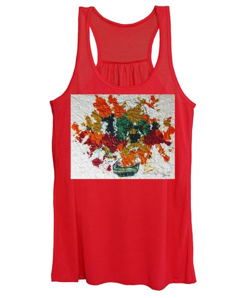 Autumn Leaves Plant Women's Tank Top