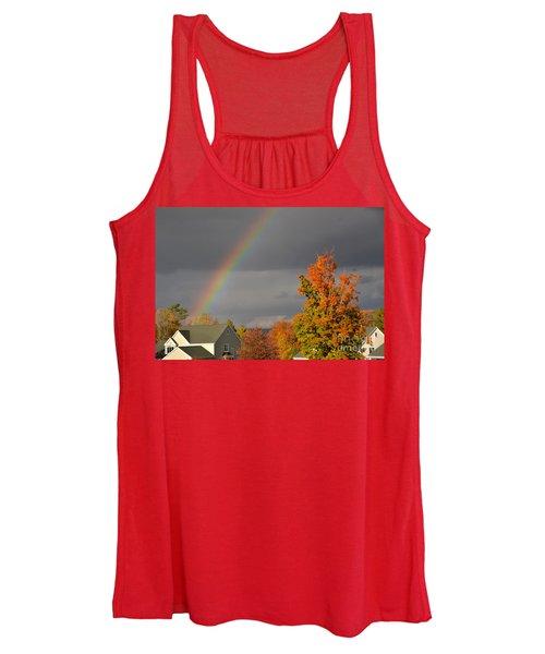 Autumn Rainbow Women's Tank Top