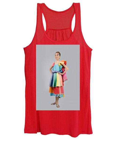 Aviva In Patio Umbrella Dress Women's Tank Top