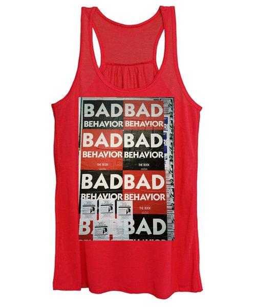 Bad Behavior Women's Tank Top