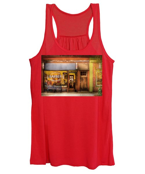 Barber - Towne Barber Shop Women's Tank Top