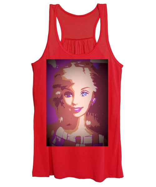 Barbie Hip To Be Square Women's Tank Top