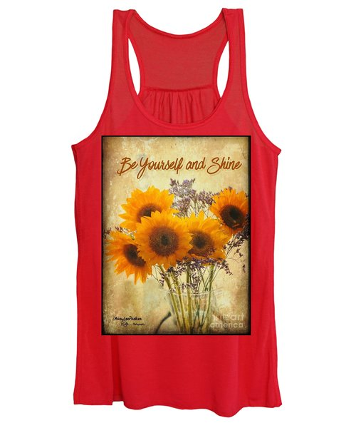 Be Yourself And Shine Women's Tank Top