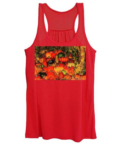Beautiful Glass Pumpkins Women's Tank Top
