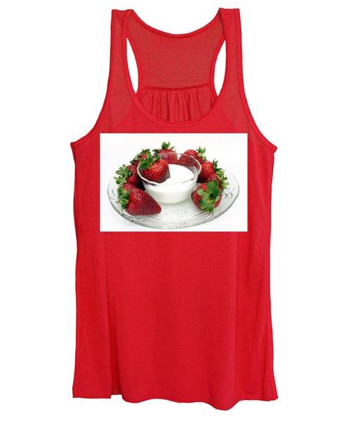 Berries And Cream Women's Tank Top