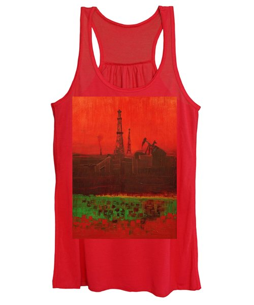Blood Of Mother Earth Women's Tank Top