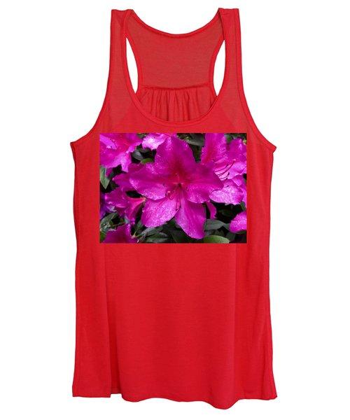 Bold Pink Flower Women's Tank Top