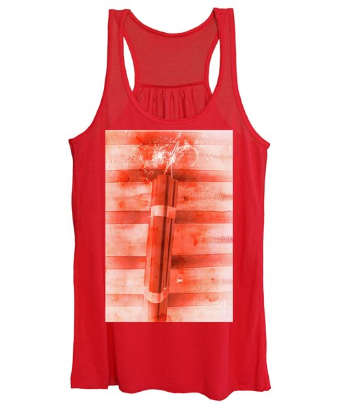 Bomb Of The Betrayal Women's Tank Top