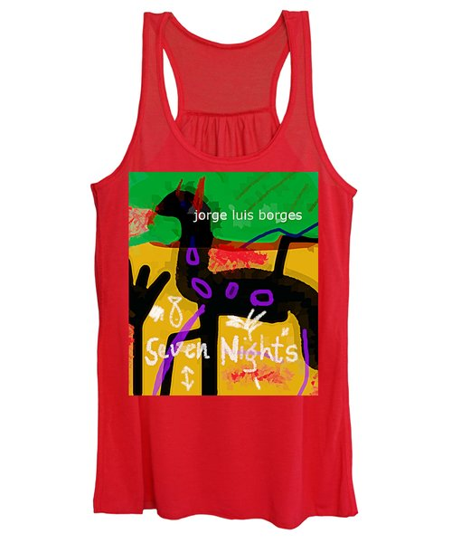 Borges Seven Nights Poster  Women's Tank Top