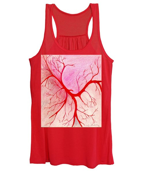 Branches Of Red Women's Tank Top