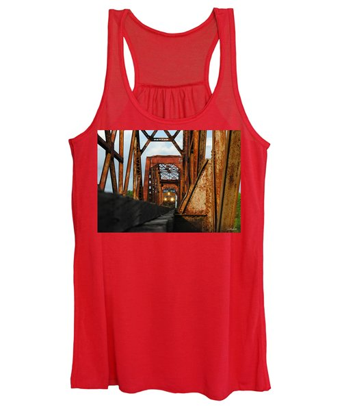 Brazos River Railroad Bridge Women's Tank Top