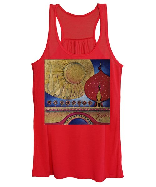 Bridge Between Sunrise And Moonrise Women's Tank Top