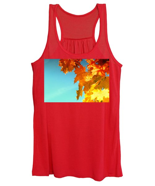 The Lord Of Autumnal Change Women's Tank Top