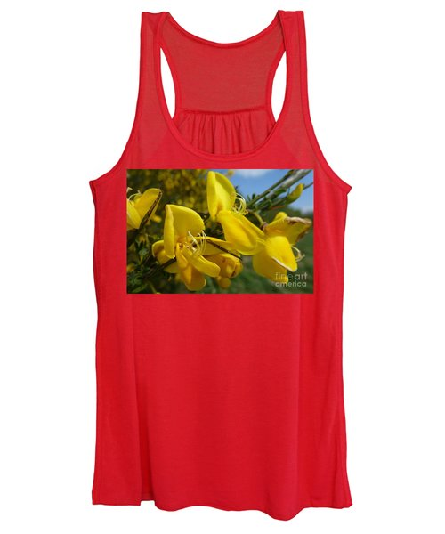 Broom In Bloom 3 Women's Tank Top