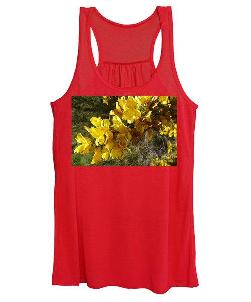Broom In Bloom Women's Tank Top