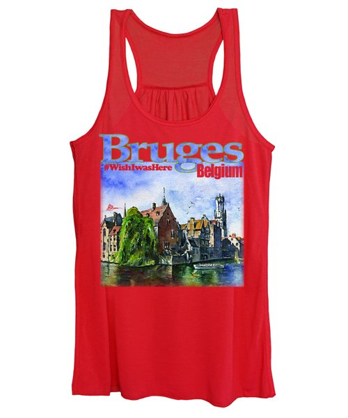 Bruges Belgium Shirt Women's Tank Top