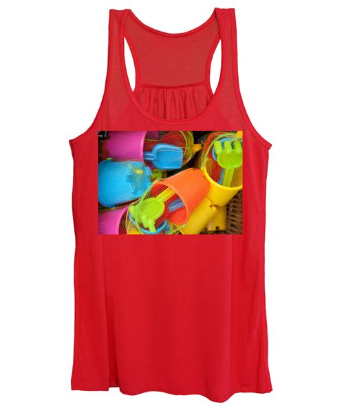 Buckets And Spades Women's Tank Top