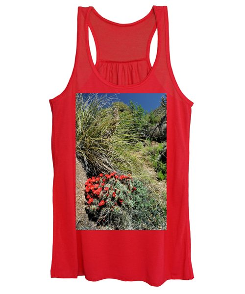 Crimson Barrel Cactus Women's Tank Top