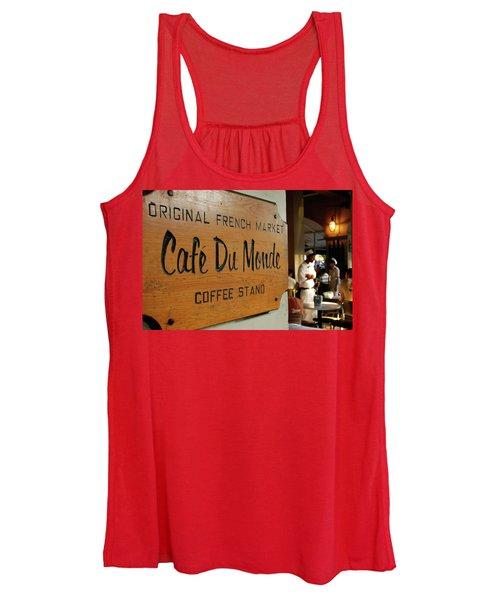 Cafe Du Monde Women's Tank Top
